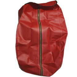 Zipper Vinyl SCBA Cover – Red