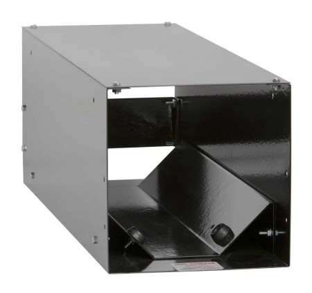 "Horizontal Storage Rack Complete - 6.1"" to 7.4"" Cylinders - Black"