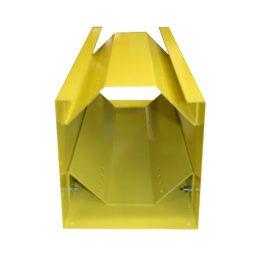Horizontal Storage Rack Less Top – 6.1″ to 7.4″ Cylinder – Yellow