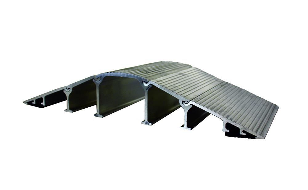 2-Channel 3-1/2 in. Diameter Stream Hose Bridge | Discount Ramps