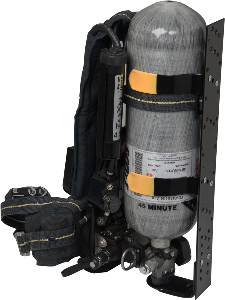 Low-Profile High-Cycle WALKAWAY SCBA Bracket