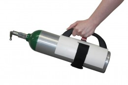 "Portable ""D"" Bottle Carrier"
