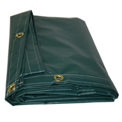 10 oz. Green Tarp - 12' x 18'