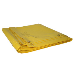 18 oz. Yellow Tarp - 14' x 18'