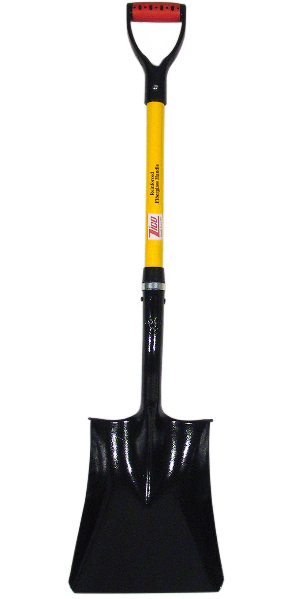 "27″ Square Point Shovel w/ ""D"" Grip"