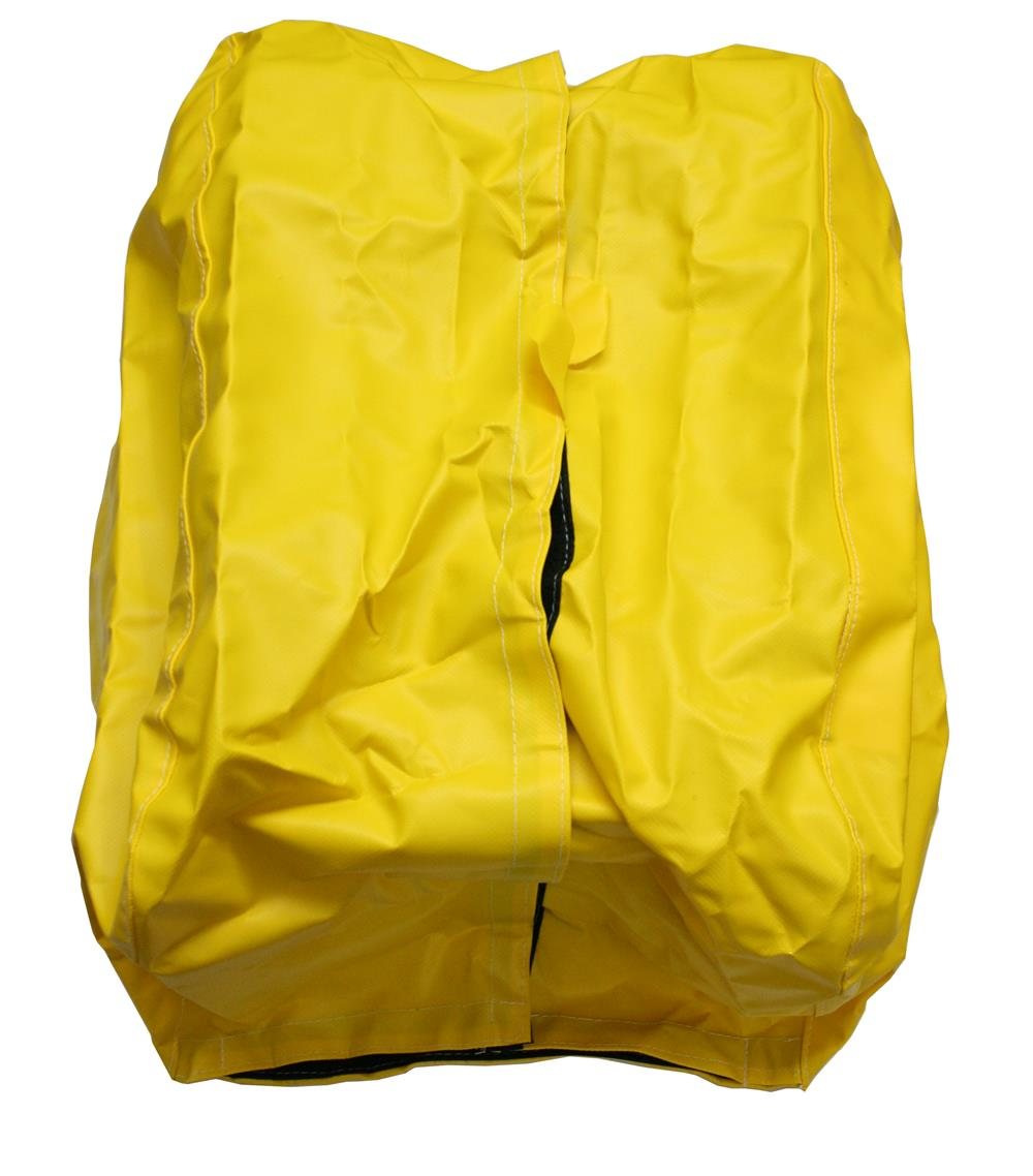 QUIC-PAC SCBA Cover w/ Hook & Loop – Yellow