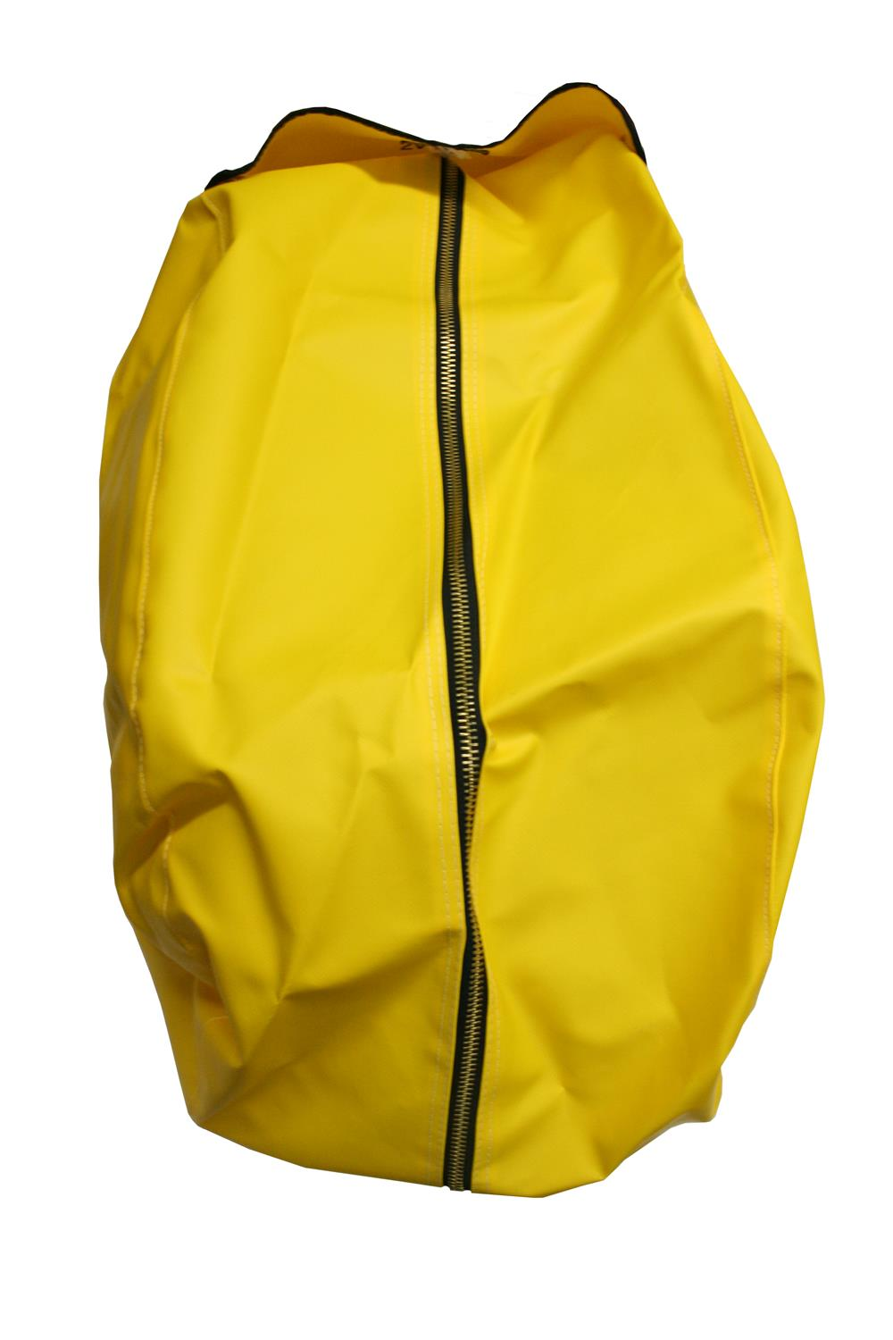 Zipper Vinyl SCBA Cover – Yellow
