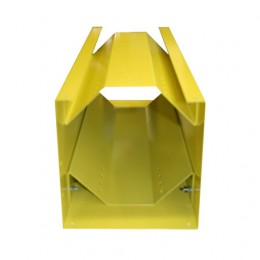 Vertical Steel QUIC-STORAGE Rack – Less Top – Yellow