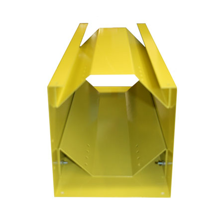 "Horizontal Storage Rack Less Rack - 6.1"" to 7.4"" Cylinder - Yellow"