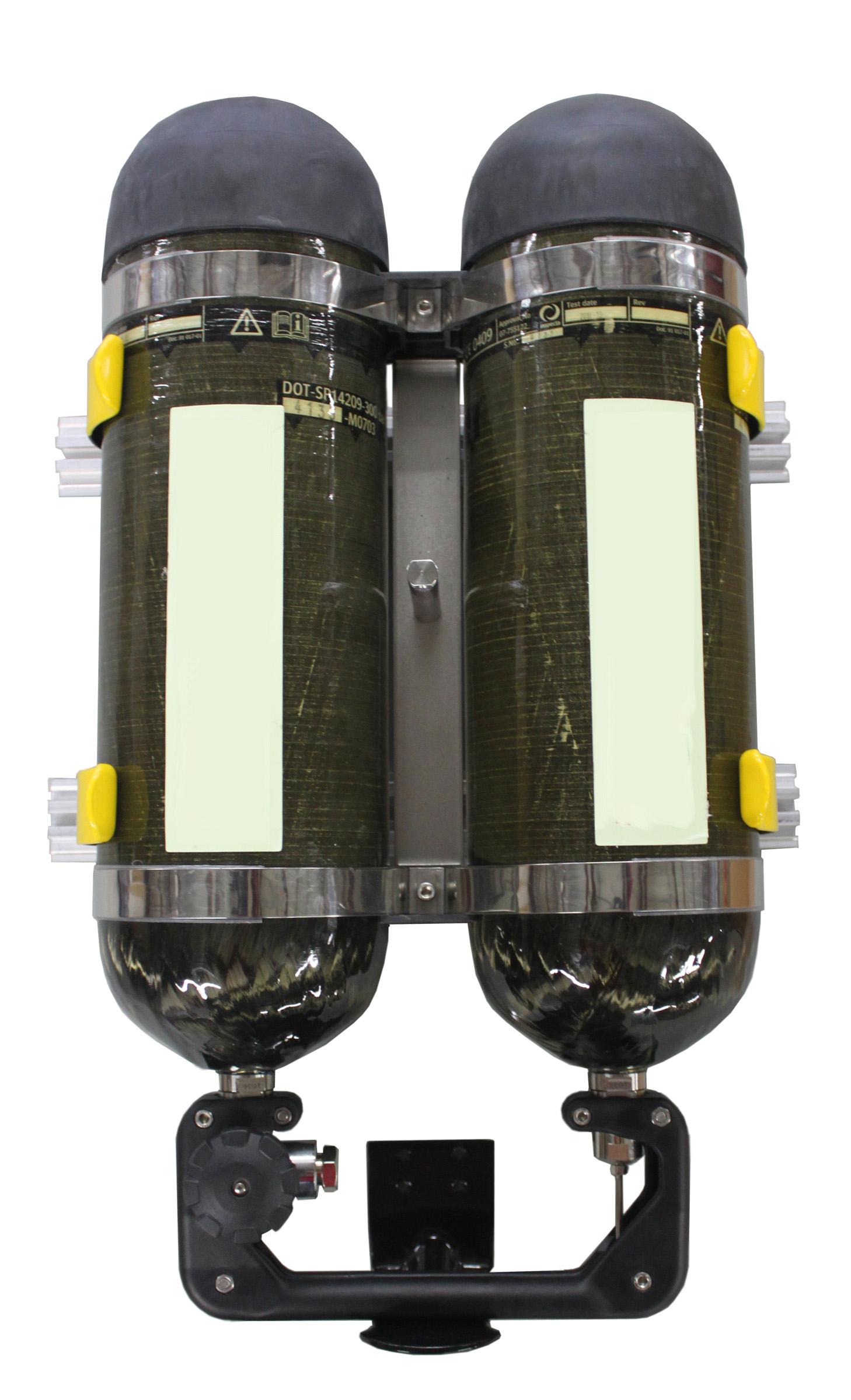 Dual Air Cylinder Brackets