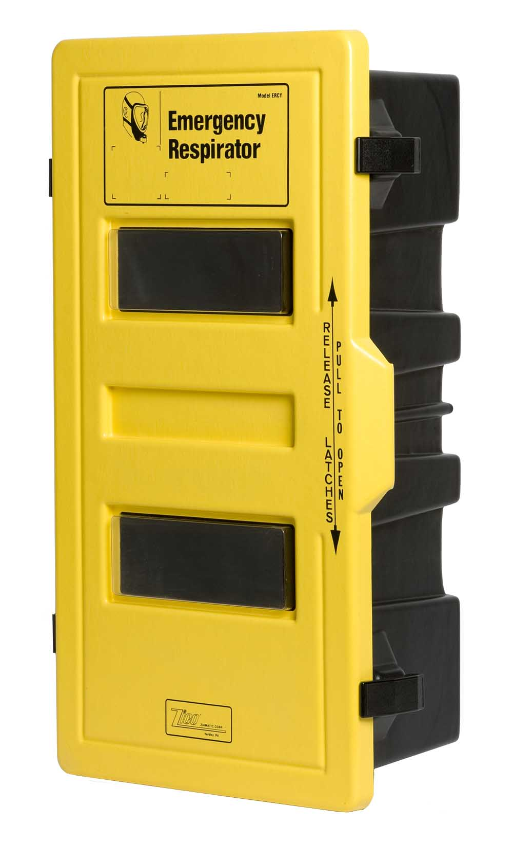 Single SCBA Cabinet – ABS Plastic