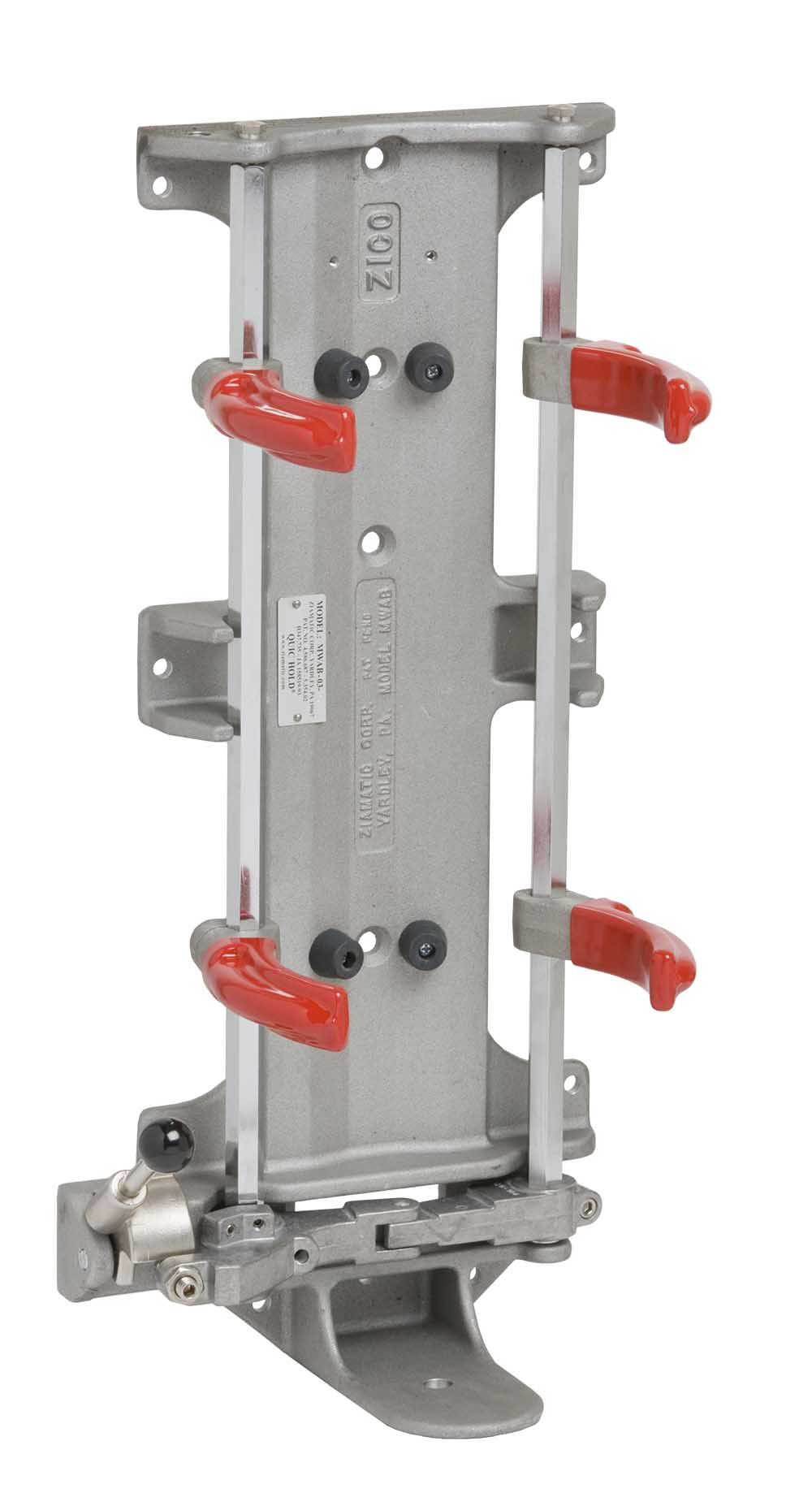 5″ QUIC-HOLD Mechanical Bracket – Standard Footplate