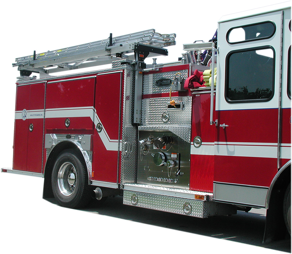 Ziamatic Corporation Outside Arm Ladder System Oals Diagram Of Pierce Fire Engine Group
