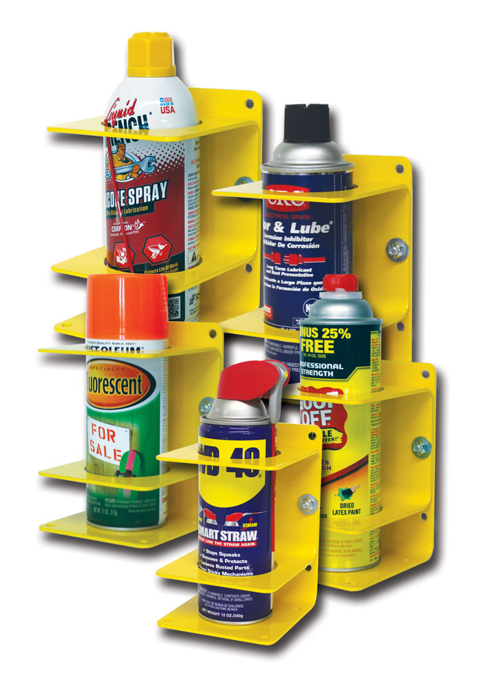 Spray Can Holder – Yellow
