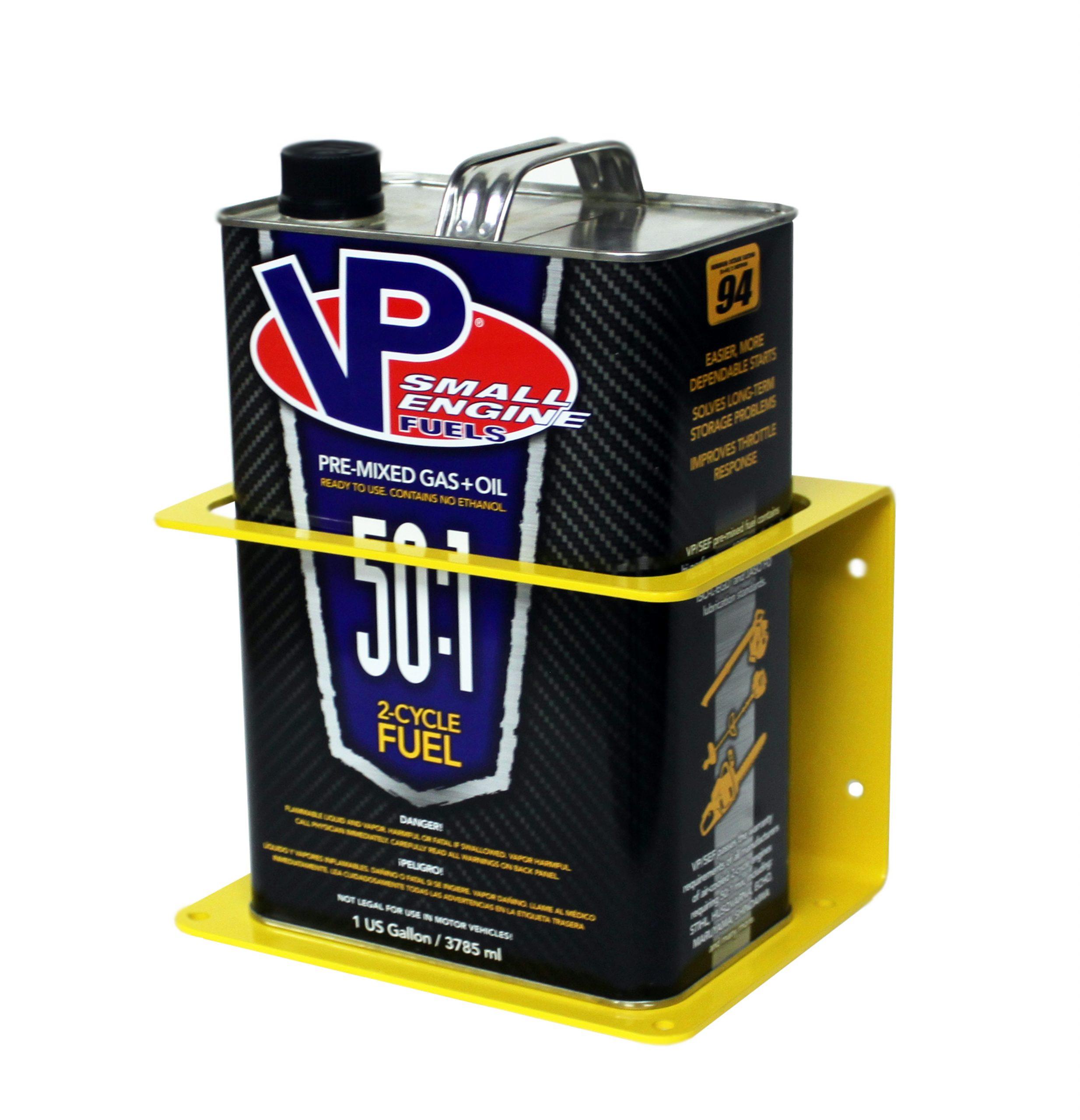 Gallon Premix Holder – Yellow