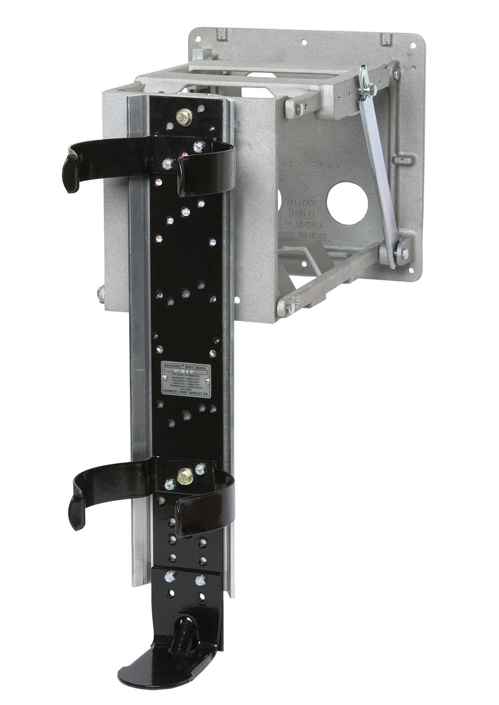 QUIC-SWING SCBA Bracket – Basic Swing-up