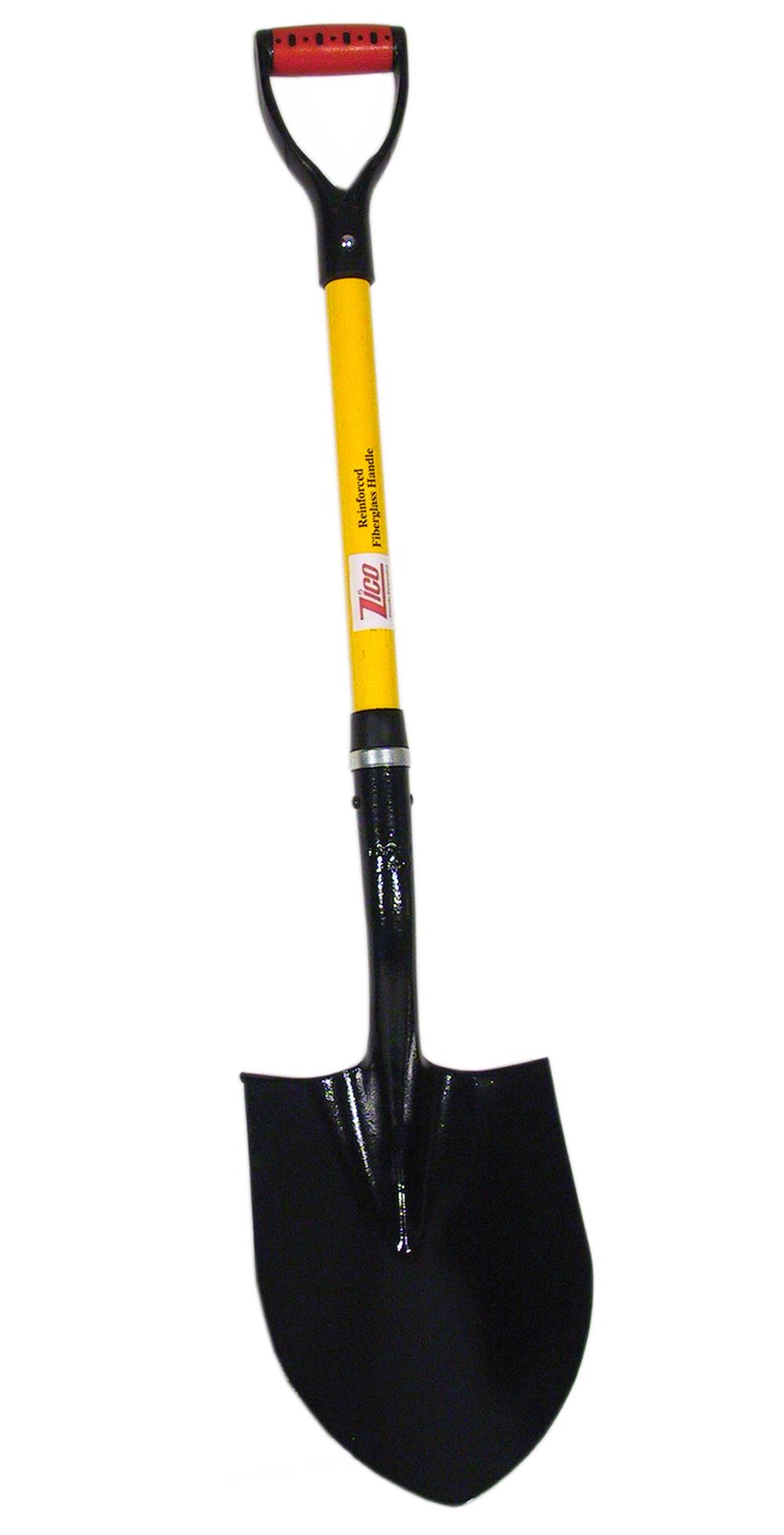"27 "" Round Point Shovel w/ ""D"" Grip"
