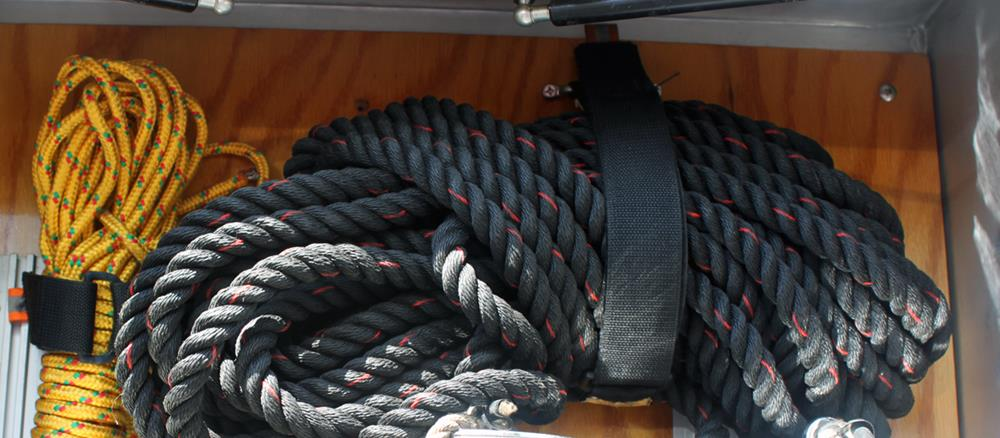 "Complete Set of Fixed Straps (3"" to 25"")"
