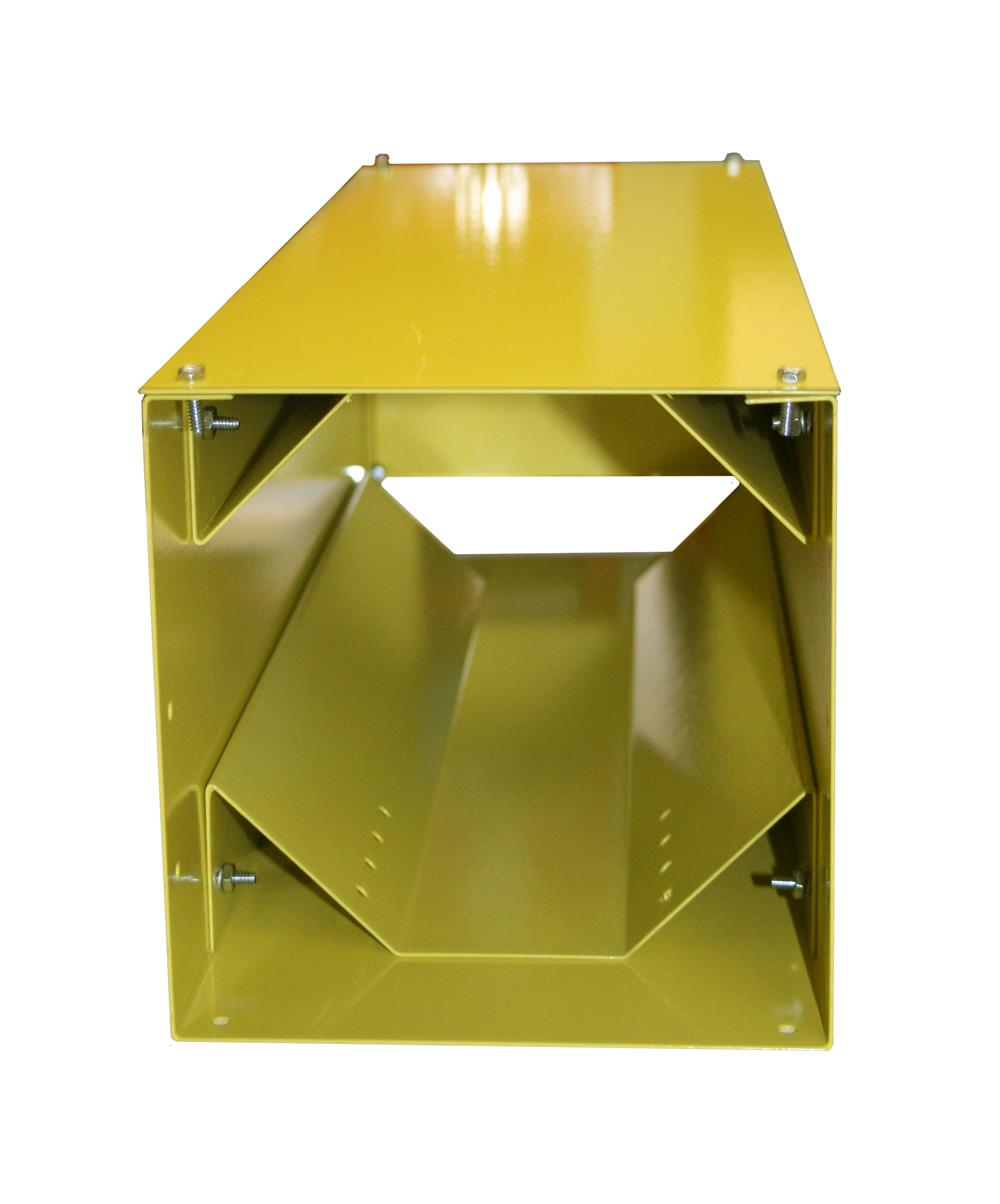Vertical Steel QUIC-STORAGE Rack – Yellow