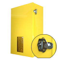 Single SCBA Cabinet w/ Lockable Latch – Steel