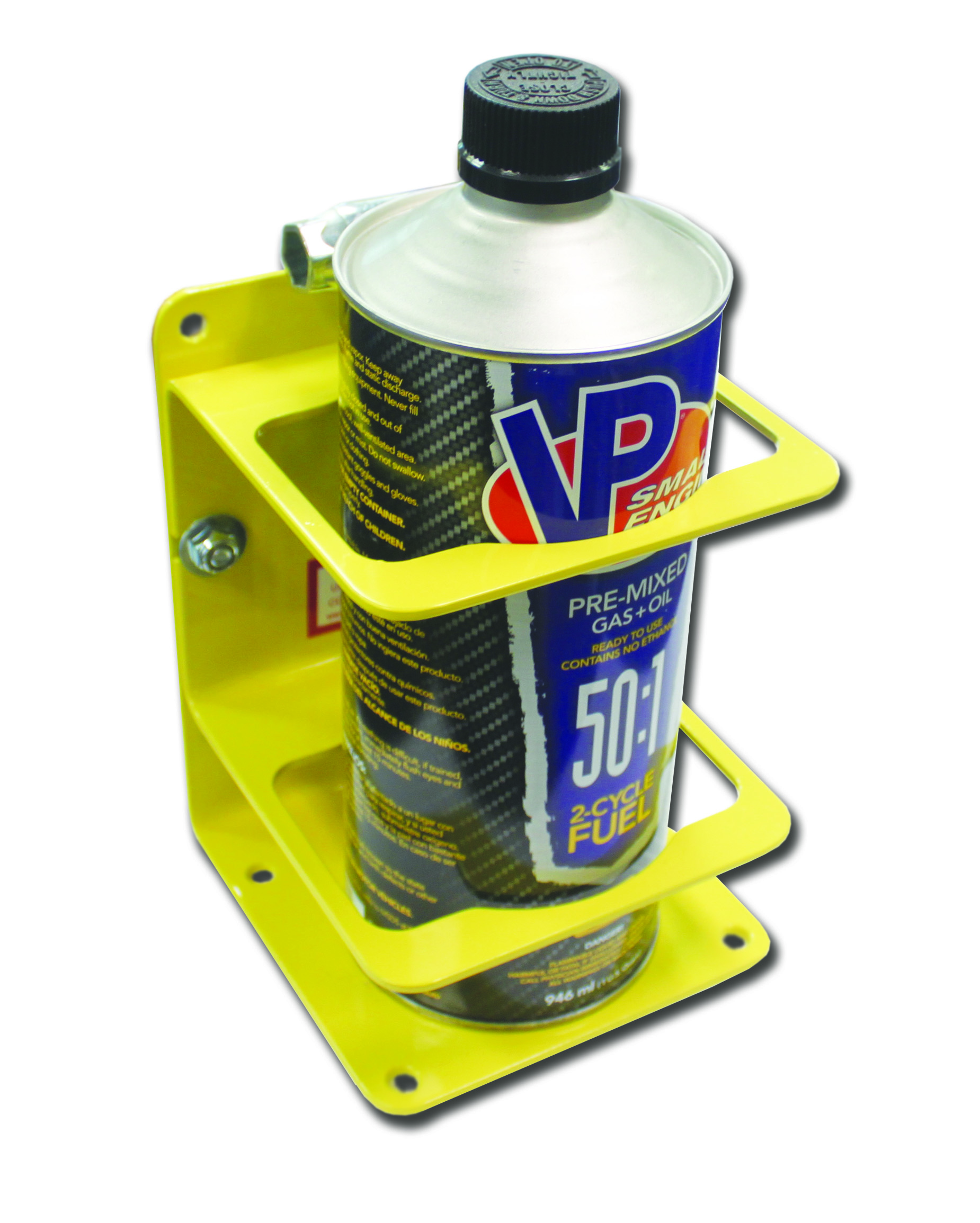 Single Premix/Bar Container Holder – Yellow