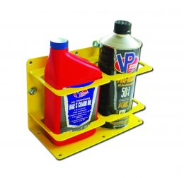 Double Premix/Bar Container Holder – Yellow